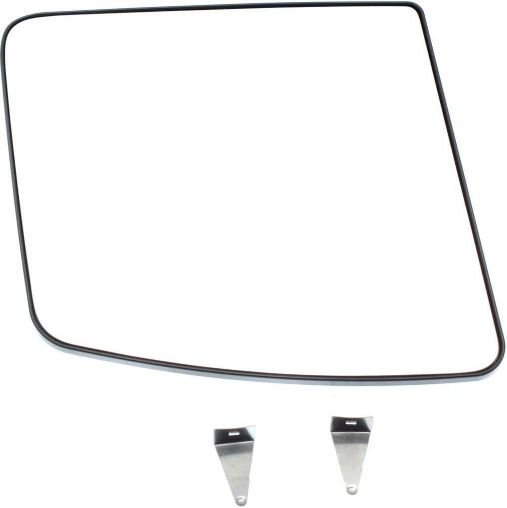 Mirror Glass For 13-14 Nissan Nv200 Passenger Side Replacement