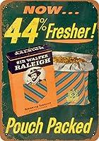 2個 8 x 12 cm メタル サイン - サー ウォルター ローリー 喫煙タバコ メタルプレート レトロ アメリカン ブリキ 看板
