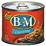 B&M Baked Beans, Original Flavor, 8 Ounce (Pack of 24)