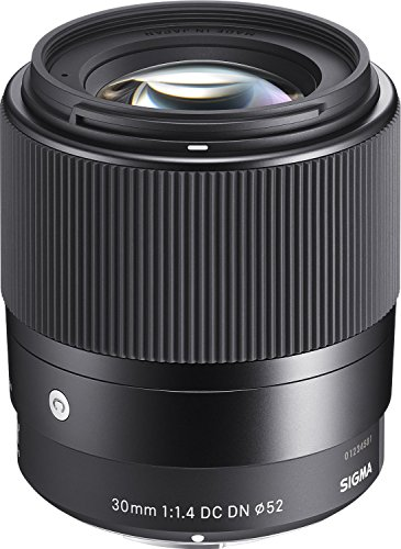 Sigma 30mm F1.4 Contemporary DC DN Lens for Sony E (302965) (Renewed)