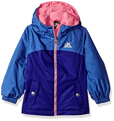 ZeroXposur Little Elissa Jvi Girls Transitional Jacket, Violet, Small