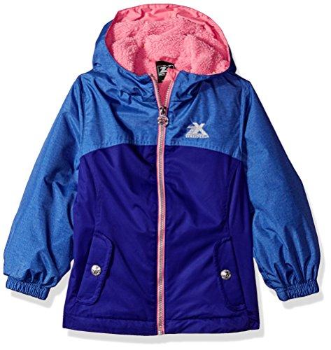 ZeroXposur Little Elissa Jvi Girls Transitional Jacket, Violet, Small