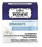 Acqua alle Rose Crema Idratante, Pelli Normali o Miste, 50 ml
