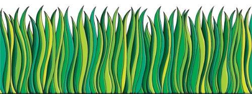 Scholastic TF3302 Tall Green Grass Jumbo Borders