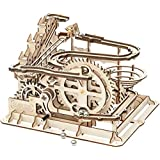 Robotime コースター 3D立体パズル ギア レーザー 木製 クラフト プレゼント おもちゃ オモチャ 知育玩具 男の子 女の子 大人 新年 ギフト 誕生日 クリスマス プレゼント 贈り物(水車)