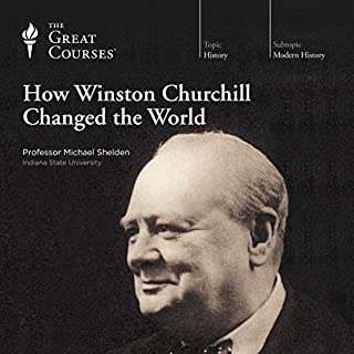 How Winston Churchill Changed the World audiobook cover art
