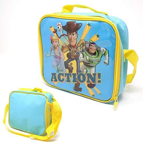 Bolsa de viaje para niños con aislamiento térmico ToyStory para escuela, para niños, con Woody Buzz Lightyear