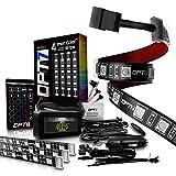 OPT7 Aura Interior Car Lights LED Strip Kit-16+...