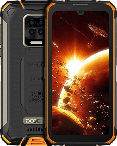 DOOGEE S59 Pro Rugged Smartphone Super Protetto,10050 mAh Big Batteria,4 GB + 128 GB, 2W Powerful Speaker,5,71 Pollici HD+, Front 16MP Rear Four Fotocamera,4G Dual SIM Telofono Cellulare, NFC,GPS