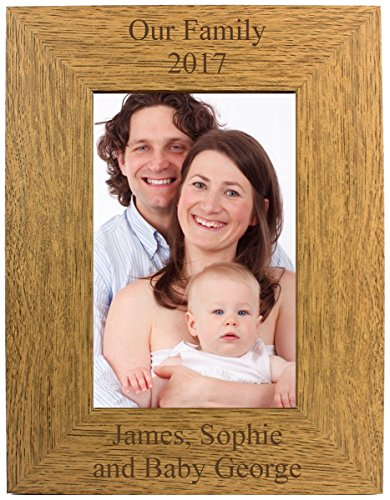 Go Find A Gift Personalised 4x6 Portrait Wooden Photo F