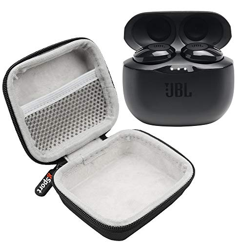 JBL Tune 125TWS True Wireless in-Ear Headphones Bundle with gSport Deluxe Hardshell Case (Black)