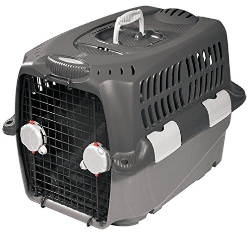 Dogit Cargo Dog Travel Carrier with Double Sided Doors, XX Large, Gray