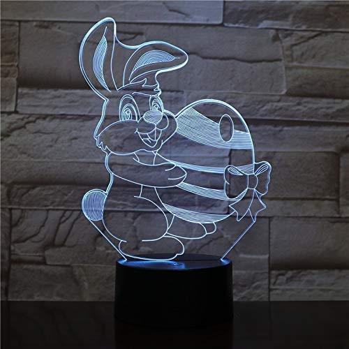 Cool SUV car 3D luz nocturna lámpara de mesa LED de 7 colores interruptor táctil USB nueva luz amigos de los niños luz para dormir regalo de Navidad