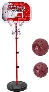 Baoblaze Kids Baby Children Adjustable Sports Mini Basketball Hoop with Stand Outdoor Indoor Toy Set