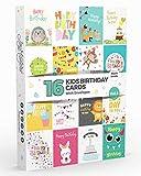 Lot de 16 Cartes d'Anniversaire ENFANT Vol. 5 Par Joy Masters™   Pour Garçons et Filles
