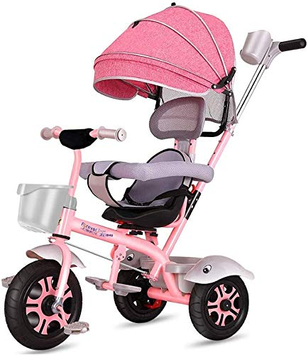 Fantastic Deal! JINHH Bicycle Tricycle, Kids Light Kid Stroller Kids Stroller Multifunction Comfortable and Safety Back 1 Year Old 2 Years Old Kids