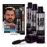 Blackbeard for Men Formula X Instant Mustache, Beard, Eyebrow and...
