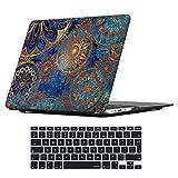 iCasso Coque MacBook Air Case, Coque MacBook Pro Case Ultra Slim étui Housse de Protection Hard Rigide Cover Shell pour MacBook Air, Pro, Pro Rentina (Bohemia)
