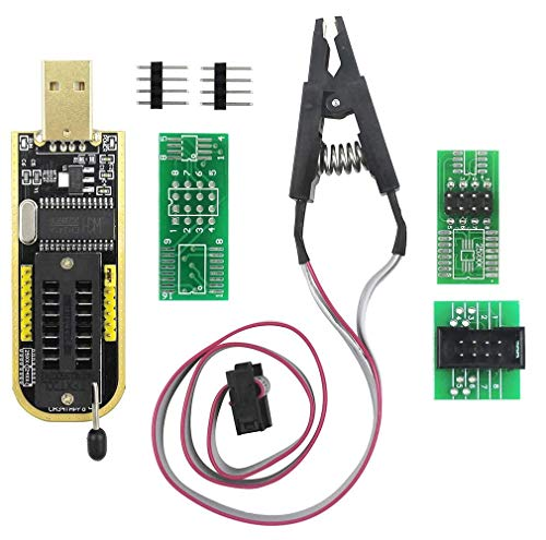 DollaTek sop8 soic8 testclip fur eeprom 25cxx 24cxx ch341a 24 25 serie eeprom flash bios usb programmierer