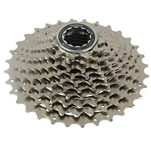 AOKUO 10 Velocidad CS-HG500-10 Índice 11-34 / 36T, Tornillo de Bloque de Rueda Libre en Cassette Cog, MTB Bicicleta Freewheel Sprocket Accesorios (Size : 11-36T)
