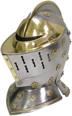 Whetstone New arrival Cutlery Royal Guard Close Helmet Direct stock discount Silver