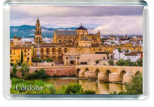 H268 Córdoba Imán para Nevera Spain Travel Fridge Magnet