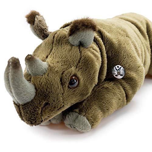 Kuscheltiere.biz Nashorn Spencer Rhino Spitzmaulnashorn Breitmaulnashorn 32 cm Plüschtier