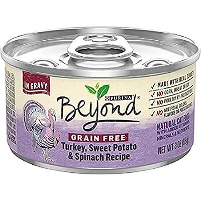 Purina Beyond Grain Free Gravy Wet Cat Food, Grain Free Turkey Recipe - (12) 3 oz. Cans