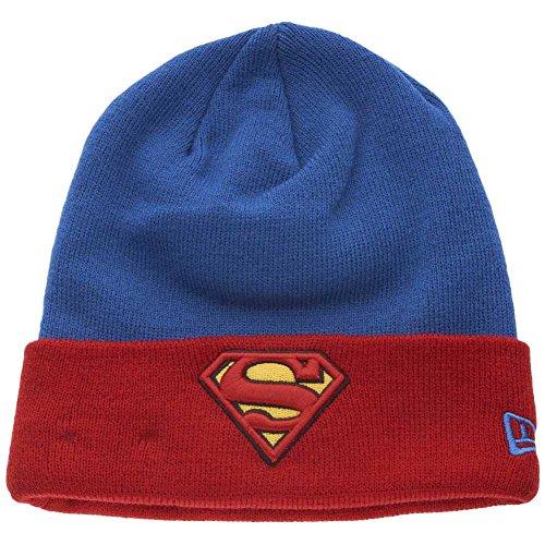 New Era x DC Comics - Bonnet Homme Superman Char Contrast Cuff - Blue/Red