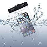 Waterproof Case Transparent Bag Cover Cover with Touch Screen for Motorola Droid Turbo 2, Moto Z Droid, Force - Samsung Galaxy J3, J5, J7, Note 3 4 5, Edge, S5, S6, Edge, Edge+, S7, Edge, S8