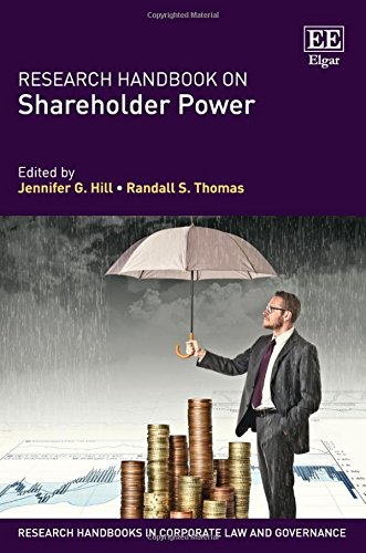 Download Research Handbook on Shareholder Power (Research Handbooks in Corporate Law and Governance) 1782546847