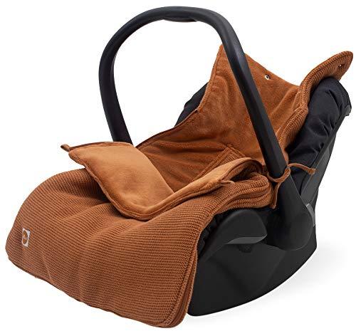 Jollein 025-811-65355 - Saco para silla de bebé (82 x 42 cm), color marrón