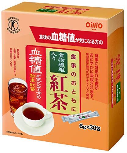 日清オイリオ 食事のおともに食物繊維入り紅茶 6g×30包