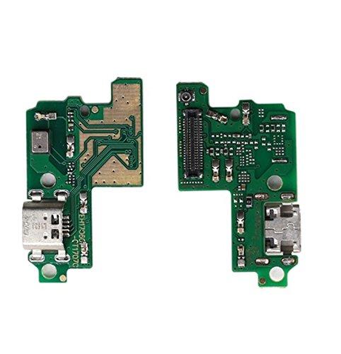 compatibile per HUAWEI P10 LITE WAS-LX1 WAS-LX1A FLEX FLAT RICAMBIO CIRCUITO MODULO BASETTA DOCK CONNETTORE per jack MICRO Usb DI CARICA DOCK RICARICA + MICROFONO