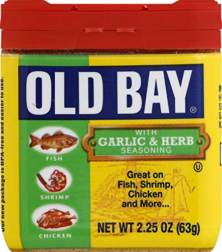 Old Bay Seasoning Garlic Herb, 2.25 oz