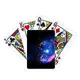 Bright Mystery Nebulosa Universe Space Poker Juego de cartas mágicas