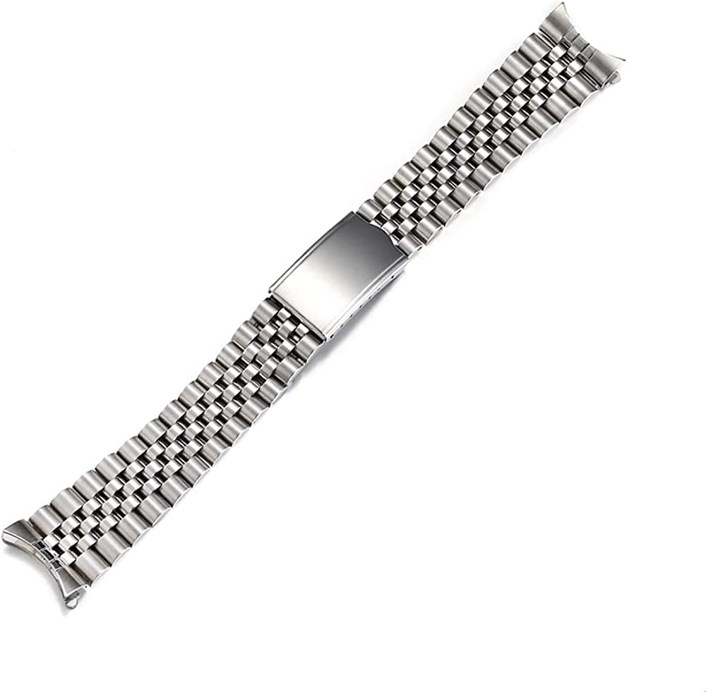 18mm 19mm 20mm Solid Stainless Band Jubilee Steel 35% OFF Ranking TOP8 Watch Bracelet