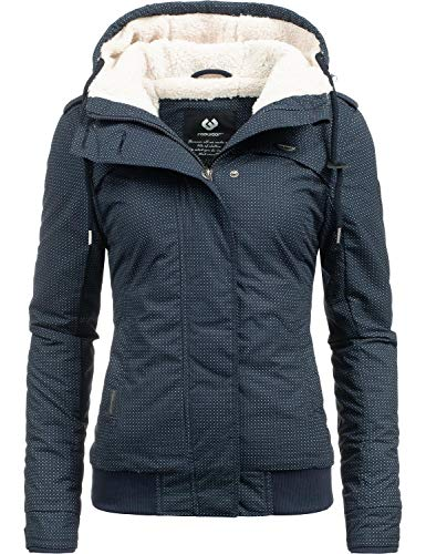 Ragwear, Ewok, winterjas voor dames, veganistisch, 7 kleuren, maat XS-XL