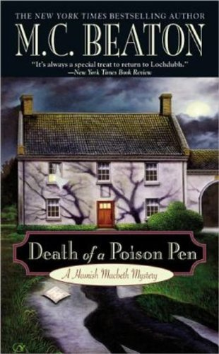 Death of a Poison Pen (Hamish Macbeth Mysteries... 0446614890 Book Cover