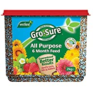 Just one application feeds your plants with a fast actinginitialburst of energy then provides 6 months continuous feed to provide your plants with additional nutrients for the whole growing season Suitable for use with all non-ericaceous plants Ide...