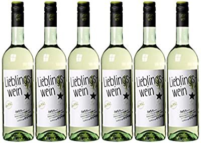 Lieblingswein Cuveé Weißwein Halbtrocken (6 x 0.75 l)