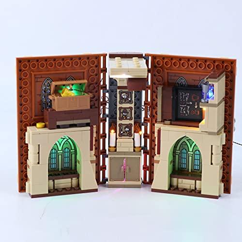 Kit de iluminación LED, compatible con Lego Harry Potter Hogwarts Moment: Transfiguration Class 76382 (LED incluido solamente, no modelo Kit)