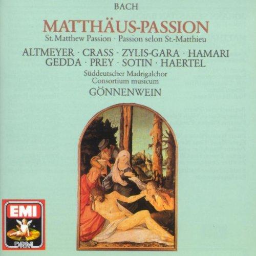 Matthäus-Passion BWV 244 · Oratorium in 2 Teilen (1989 Digital Remaster), 2.Teil: Nr.47 Arie: Erbarme Dich, Mein Gott (Alt - Solo-Violine & Orchester I)
