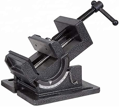 Angle Drill Press Vise 4 25 Inch Industrial Strength Benchtop 0 90 Degree Tilting Angle Vises product image