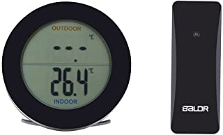 Garosa Higrómetro Digital Termómetro LCD Calibrador De Humedad Interior Retroiluminación Calendario Temperatura Humedad Te...
