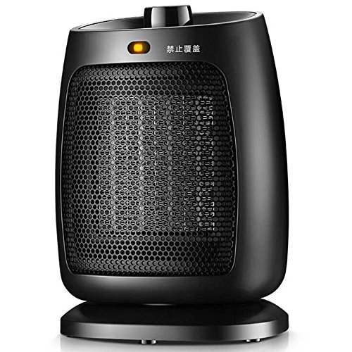Haizh Elektrische radiator, statusdraagbare ventilatorkachel, 1800 W, zwart, verwarmingskachel, badkamer, energiebesparing