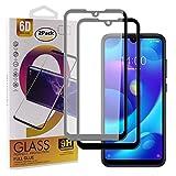 Guran [2 Paquete Protector de Pantalla para Xiaomi Mi Play Smartphone Cobertura Completa Protección 9H Dureza Alta Definicion Vidrio Templado Película - Negro