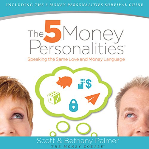 The Five Money Personalities audiobook cover art