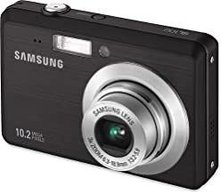 Samsung SL102 10MP Digital Camera with 3x Optical Zoom and 2.5 inch LCD (Black)