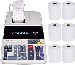 $89 Get Sharp EL-1197PIII Heavy Duty Color Printing Calculator with Clock and Calendar Bundle (7 Items)